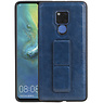 Grip Stand Hardcase Backcover Huawei Mate 20 X Blauw