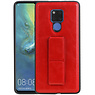 Grip Stand Hardcase Backcover Huawei Mate 20 X Rood