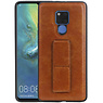 Grip Stand Hardcase Backcover Huawei Mate 20 X Bruin