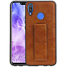 Grip Stand Hardcase Backcover Huawei Nova 3 Bruin