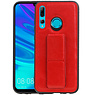 Grip Stand Hardcase Backcover Huawei P Smart Plus Rood