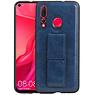 Grip Stand Hardcase Backcover Huawei Nova 4 Blauw