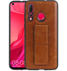 Grip Stand Hardcase Backcover Huawei Nova 4 Bruin