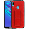 Grip Stand Hardcase Backcover Huawei Y6 2019 Rood