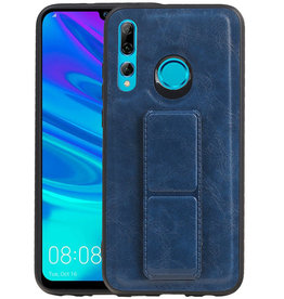 Grip Stand Hardcase Backcover Honor 20 Lite Blauw