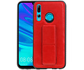 Grip Stand Hardcase Backcover voor Honor 20 Lite Rood