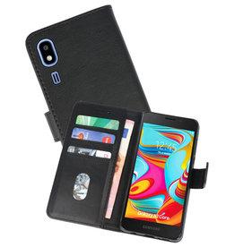 Bookstyle Wallet Cases Hoesje Nokia 2.2 Zwart