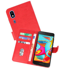 Bookstyle Wallet Cases Hoesje Nokia 2.2 Rood