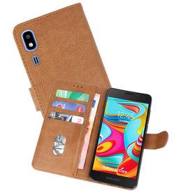 Bookstyle Wallet Cases Hoesje Nokia 2.2 Bruin