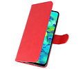 Bookstyle Wallet Cases Hoesje voor Samsung Galaxy M40 Rood