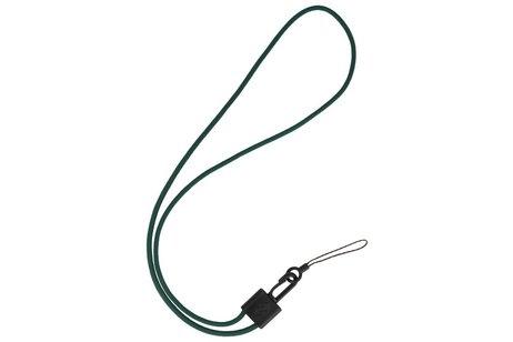 CSC Ronde Touwtjes voor Telefoon Hoesjes of Badge Donker Groen