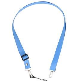 Schouder / Nek Touwtjes voor Hoesjes of Badge Blauw