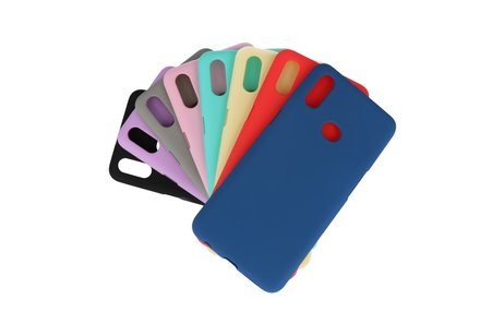BackCover Hoesje Color Telefoonhoesje voor Samsung Galaxy A10s - Turquoise