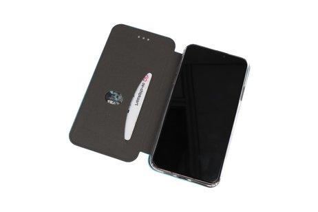 Slim Folio Case voor Samsung Galaxy A70s Blauw