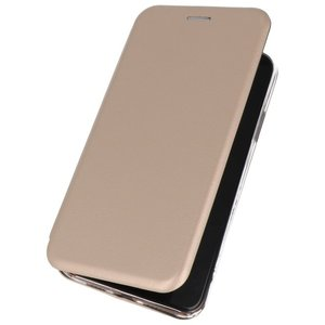 Slim Folio Case voor Samsung Galaxy A70s Goud