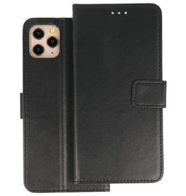 Wallet Cases Hoesje iPhone 11 Pro Max Zwart