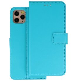 Wallet Cases Hoesje iPhone 11 Pro Max Blauw