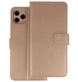 Wallet Cases Hoesje iPhone 11 Pro Max Goud