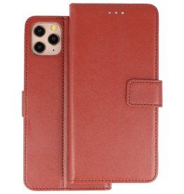 Wallet Cases Hoesje iPhone 11 Pro Max Bruin