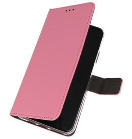 Wallet Cases Hoesje Samsung Galaxy A10s Roze