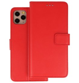 Wallet Cases Hoesje iPhone 11 Pro Rood