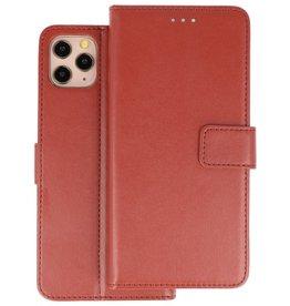 Wallet Cases Hoesje iPhone 11 Pro Bruin