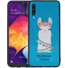 Samsung Galaxy A50 Hoesje No Drama LLama Design
