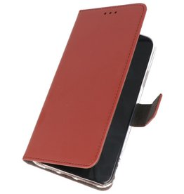 Wallet Cases Hoesje Samsung Galaxy Note 10 Bruin