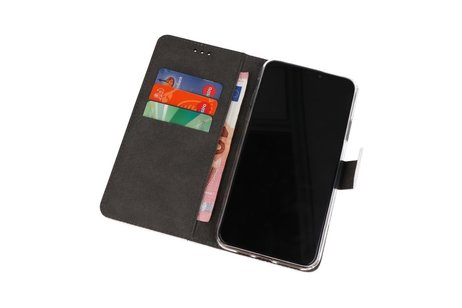 Wallet Cases Hoesje voor Nokia 6.2 Wit