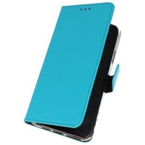 Wallet Cases Hoesje voor Nokia 6.2 Blauw