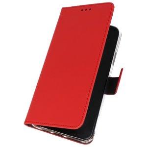 Wallet Cases Hoesje voor Nokia 6.2 Rood