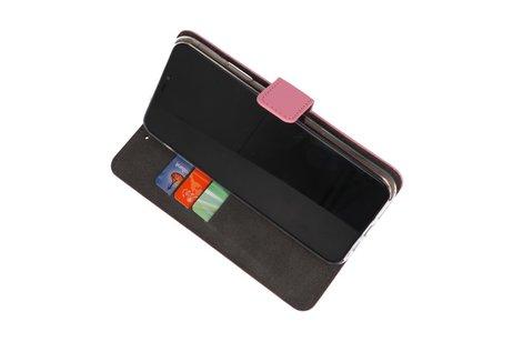 Wallet Cases Hoesje voor Nokia 6.2 Roze