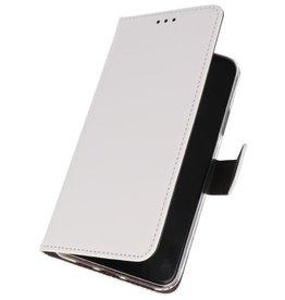 Wallet Cases Hoesje Nokia 7.2 Wit
