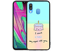 Cute Cake TPU Hoesje Voor Samsung Galaxy A40