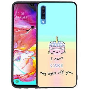 Cute Cake TPU Hoesje Voor Samsung Galaxy A70