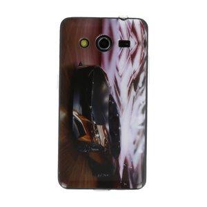 Zwarte Auto TPU / Hard case cover hoesje voor Samsung Galaxy Core 2 G355H