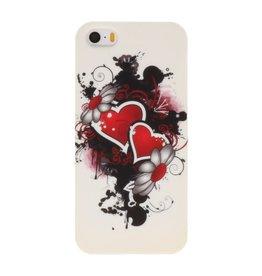 Harten TPU Case Cover Hoesje voor Apple iPhone 5/5s/SE