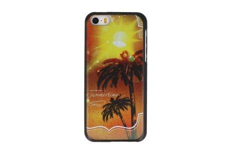 Summertime Hard Case Cover Hoesje voor Apple iPhone 5C