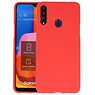 BackCover Hoesje Color Telefoonhoesje Samsung Galaxy A20s - Rood