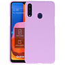 Color Backcover Samsung Galaxy A20s Paars