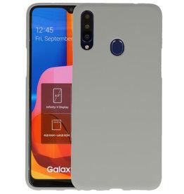 Color Backcover Samsung Galaxy A20s Grijs