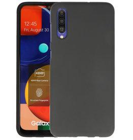 Color Backcover Samsung Galaxy A50s Zwart