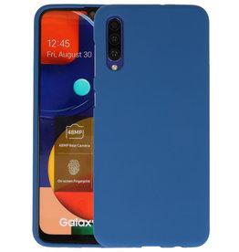 BackCover Hoesje Color Telefoonhoesje Samsung Galaxy A50s - Navy