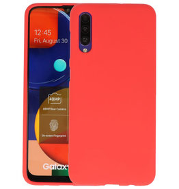 Color Backcover Samsung Galaxy A50s Rood