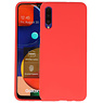 BackCover Hoesje Color Telefoonhoesje Samsung Galaxy A50s - Rood
