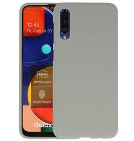 BackCover Hoesje Color Telefoonhoesje Samsung Galaxy A50s - Grijs