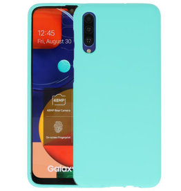 BackCover Hoesje Color Telefoonhoesje Samsung Galaxy A50s - Turquoise