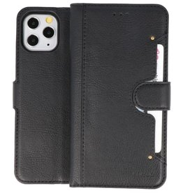 KAIYUE - Luxe Portemonnee Hoesje iPhone 11 Pro Zwart