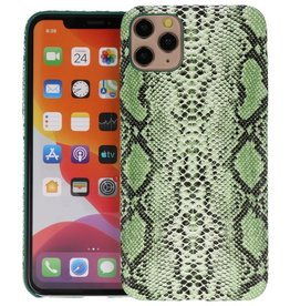 Slang Design Back Cover iPhone 11 Pro Max Groen