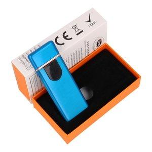 Touch Screen Elektrisch oplaadbaar aansteker Blauw